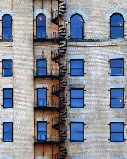 awesome fire escape in boston