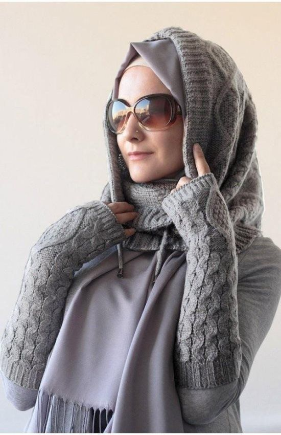winter hijab fashion for women 2016 styles - Styles 7