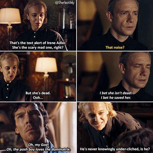 Cheating. [Sherlock]