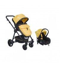 Kanz KZ - 4010 Cameron Travel Bebek Arabası Sarı Siyah
