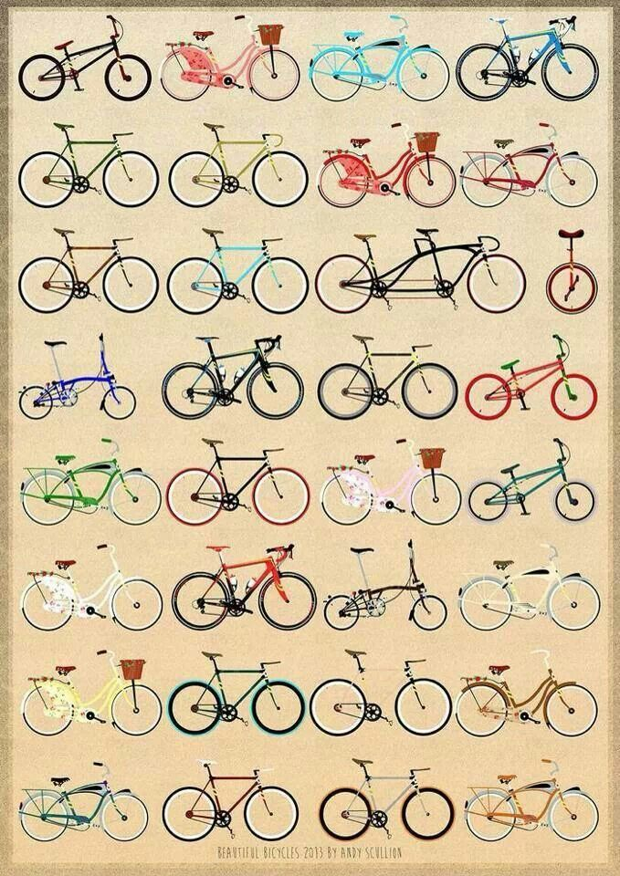 bycicles, the best way to ride.