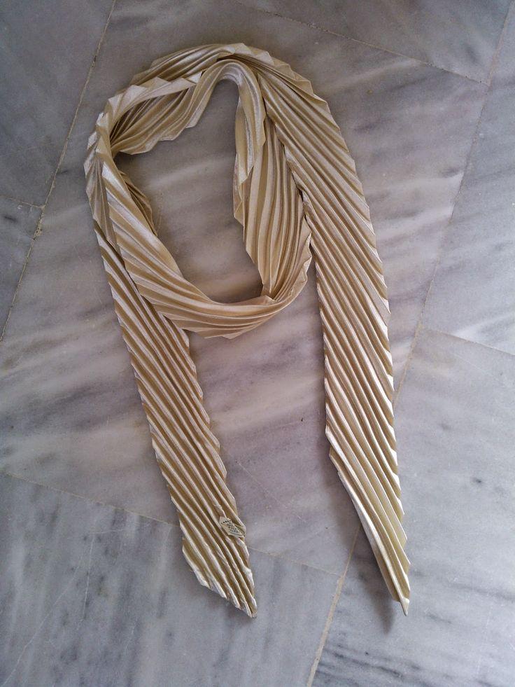 OTINANAI: Φουλάρι με ρίγες - φουλάρι γραβάτα