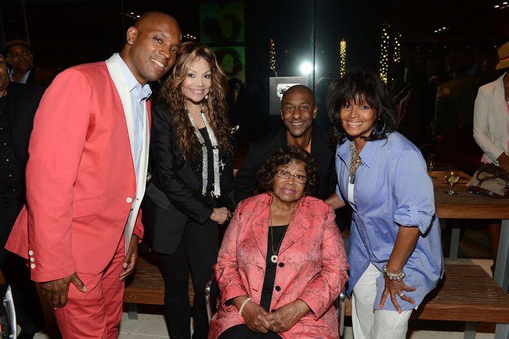La Toya Jackson, Rebbie Jackson and Katherine Jackson at BET Music Matters Showcase, July 2nd, 2012.