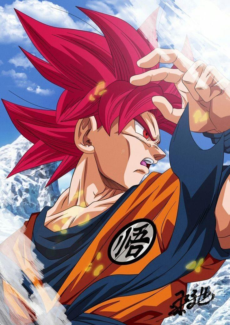 Goku Super Saiyan God Dragon Ball Super Broly Anime Dragon Ball Super Anime Dragon Ball Dragon Ball Goku