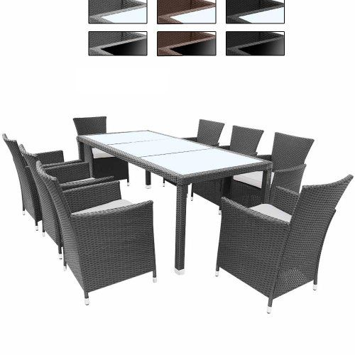 die besten 25 polyrattan essgruppe ideen auf pinterest. Black Bedroom Furniture Sets. Home Design Ideas