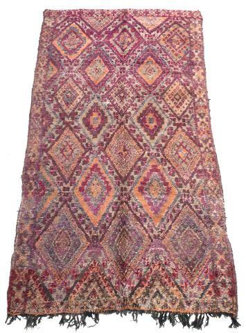 """MARR-KETT ~ Products ~ """"Hafthah"""" Aït Bou Ichaouen Large Vintage Rug ~ Shopify"""