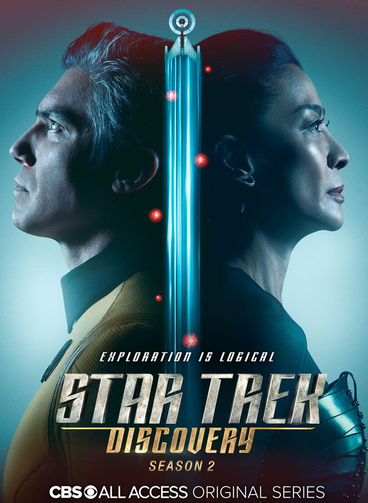 Star Trek Discovery The Second Season Star Trek Tv Star Trek Poster Star Trek Art