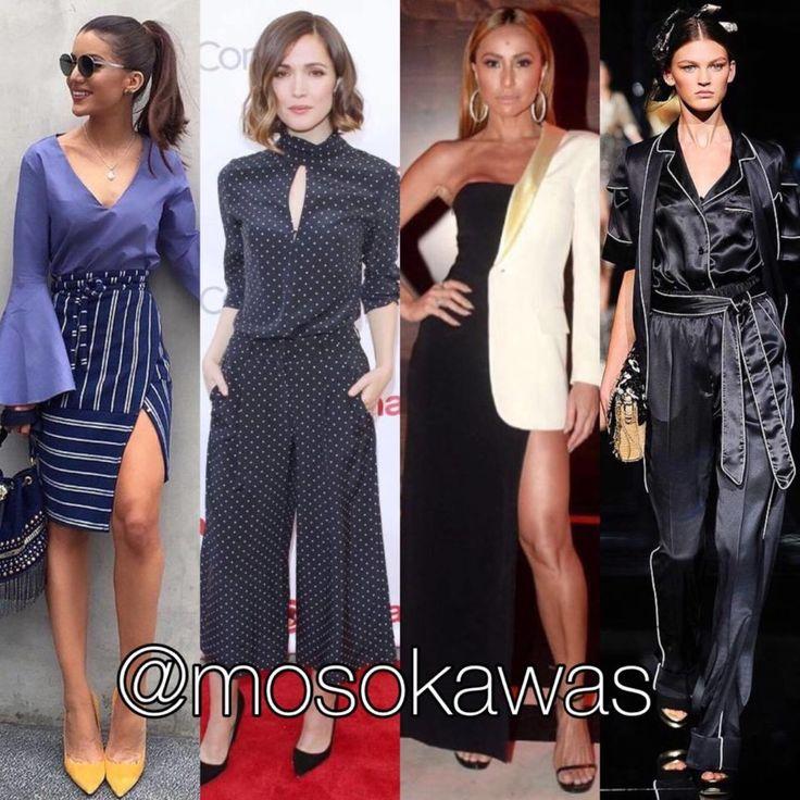 Mosokawas Look: More Trends! #bellsleeves #pantacourt #geometric #pajamas Photos: 1- Camila Coelho; 2- @rosebyrneoffical wearing Zimmermann; 3- Sabrina Sato wearing @jpgaultierofficial; 4- @dolcegabbana #style #fashion #instafashion #fashiongram #instastyle #fashionista #hairstyle #infashion #instyle #instalook #accessories #glow #shoes #pinterest #mosokawas #lookoftheday #outfit #ootd #trends #dolcegabbana #camilacoelho #rosebyrne #zimmermann #sabrinasato #jeanpaulgaultier