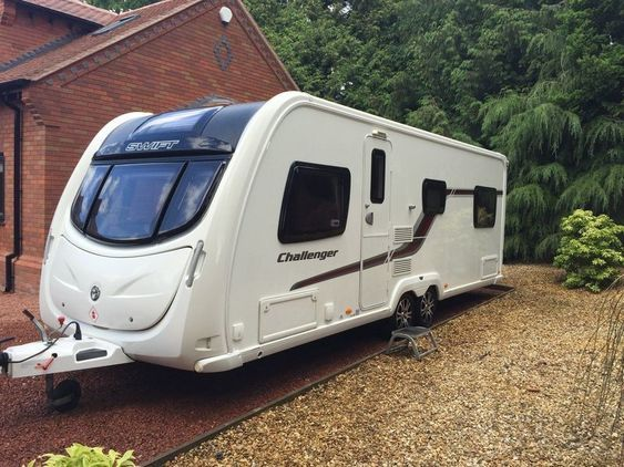 Swift Challenger 625, 6 berth Berth, (2012) Used - Good condition Touring Caravans for sale