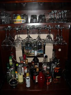 From Entertainment Center To Bar