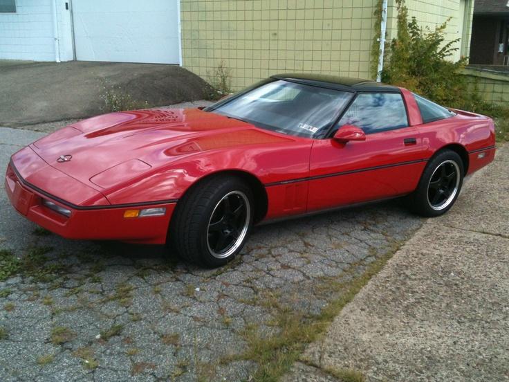 My 1985 Corvette with 15,000 miles.