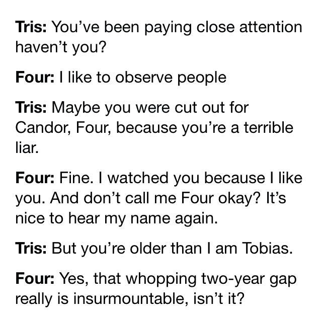 40 best Tris and Tobias images on Pinterest