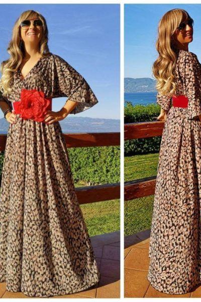 bfb5c7acaf31 φόρεμα λεοπάρ