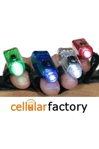 LED Finger Lights (4 pcs)