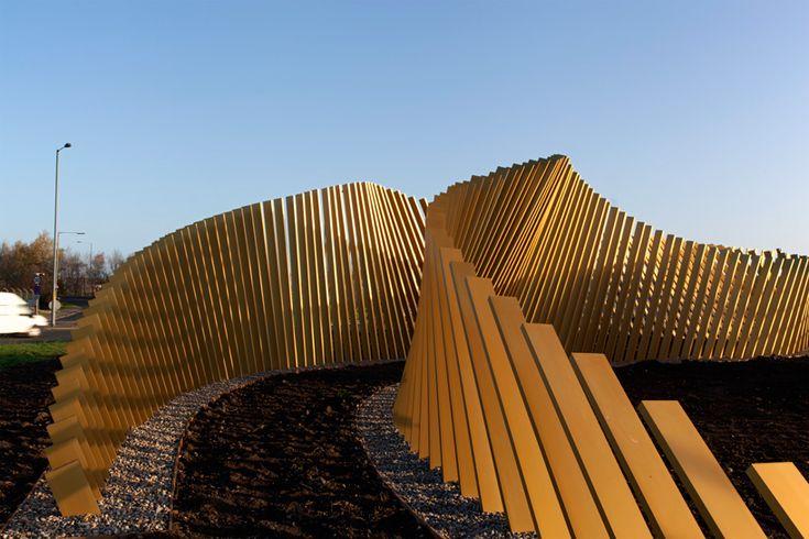 mcchesney architects: blaze installation | designboom