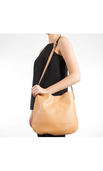 Leather Cross Body Saddle Handbag