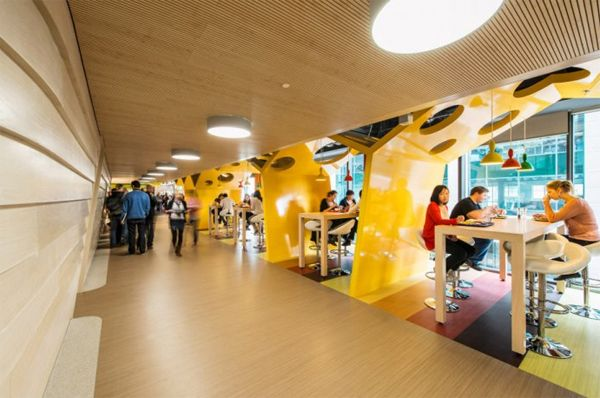 latest-google-office-design-with-yellow-cafeteria (With ...