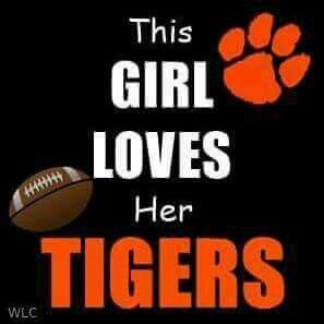 Clemson Tiger Pride!! Like my facebook page for exercise tips, support, and recipes. https://www.facebook.com/letsbefit43/?ref=aymt_homepage_panel