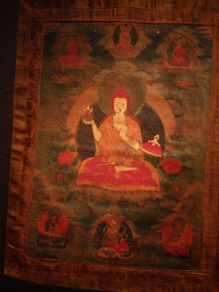 Eight Manifestations of Padmasambhava;  Guru Shakya Senge, Sankrit: Guru Śākyasimha of Bodh Gaya, Lion of the Sakyas, who learns the Tantric practices of the eight Vidyadharas. He is shown as a fully ordained Buddhist monk.