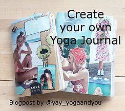 Make your own Yoga-Journal   Yoga Blog   Schweiz   YAY yoga and you