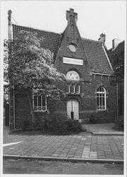 Parklaan Groningen gymnastiekschool 1967