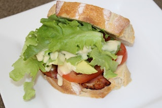Mummy's Undeserved Blessings: BLT with Homemade Garlic Aioli