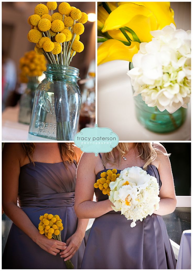yellow and purple..sgorgeous wedding colours!