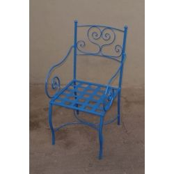 Chair Wrought Iron. Customize Realizations. 475