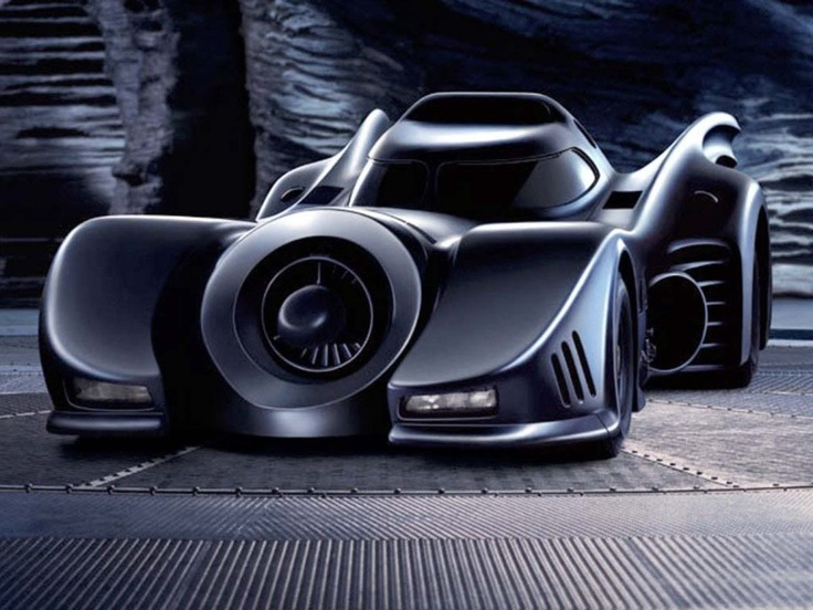 '89 Batmobile, by Anton Furst, Terry Ackland-Snow & crew.