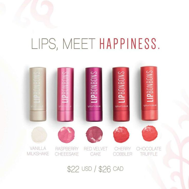 Tinted Lip Balm with a mild vanilla fragrance, fruit extracts and five natural oils.