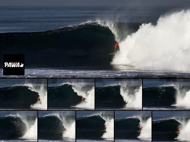 Sequence of the Week.. Conley shacked.. #pawasurf #pawa #surfing #surf #brianconley #tube #tuberide #barrel #mainland