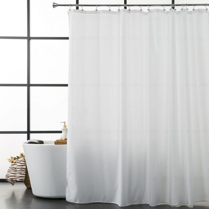 43 Fantastic Hang Bathroom Shower Curtain Design Ideas To Try Asap