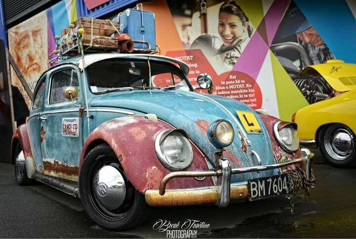 VW beatle #patina