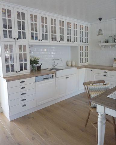 """Behind a blue door: Interior fra """"Villatverrteigen"""" ! #kitchen #kjøkken"""