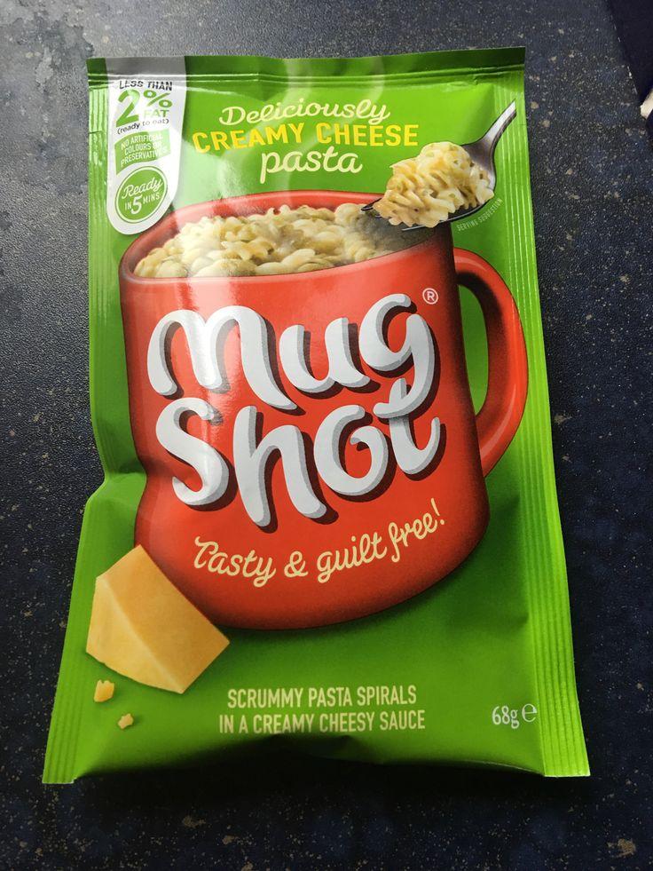 Mug Shot Creamy Cheese Pasta. Made in the UK.