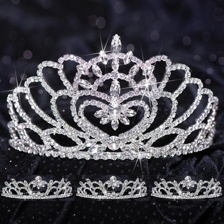 Prom Tiara Set - Marissa Queen & Madison Court
