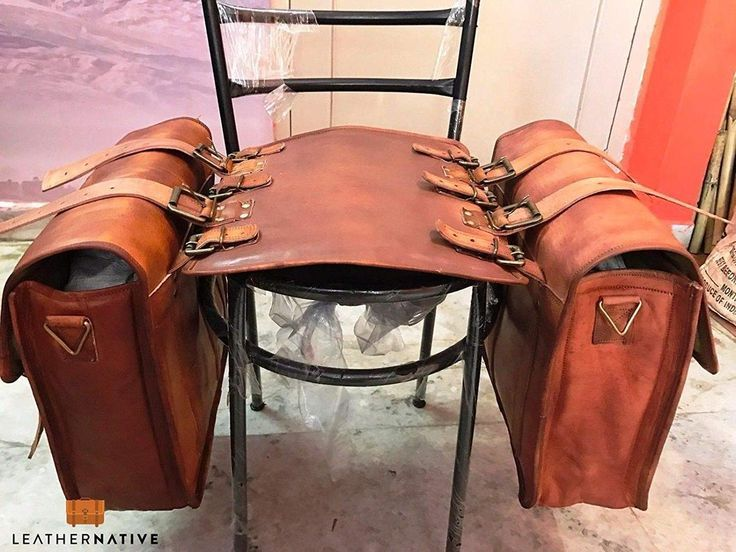 Vintage Leather Cowboy Saddle Bags Leather Saddle Bags Leather Bike Saddle Bags