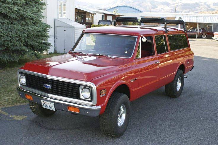 1972 Chevrolet Suburban Custom 10 Deluxe Suburban