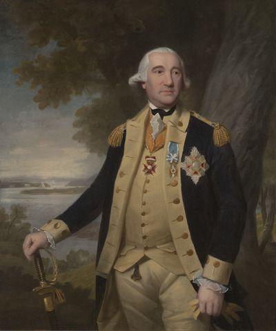 Major General Friedrich Wilhelm Augustus, Baron von Steuben (1730-1794) ~ by Ralph Earl