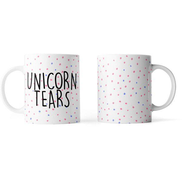 Unicorn Tears Mug Funny Mug Rude Mug Mug Cup 4p059 (17 CAD) ❤ liked on Polyvore featuring home, kitchen & dining, drinkware, drink & barware, home & living, mugs, silver, unicorn cup and unicorn mug