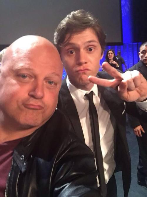Evan Peters & Michael Chiklis @ Paleyfest 2015