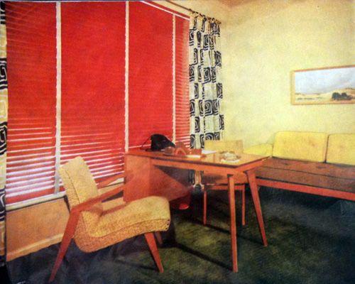 Mid Century Modern Window Treatments - my favorite decorating style!!!