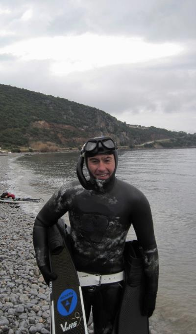 people / scenes @ Alkyoni 2012 Winter Spearfishing Games