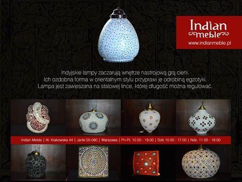 Ozdobne #indyjskie #lampy dostępne w naszym sklepie :) http://www.indianmeble.pl/lampy http://indianmeble.wordpress.com/