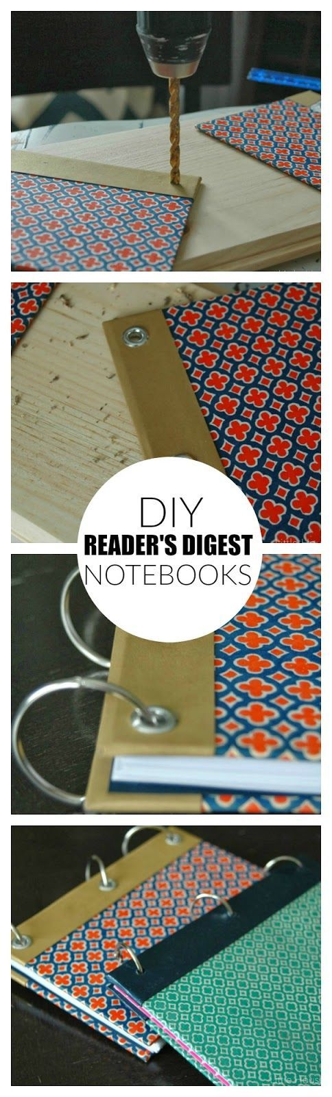 Turn the bright and vibrant covers of Reader's Digest books into beautiful notebooks! Little House of Four