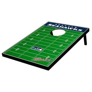 Tailgate Toss Seattle Seahawks Football Bean Bag Toss Game