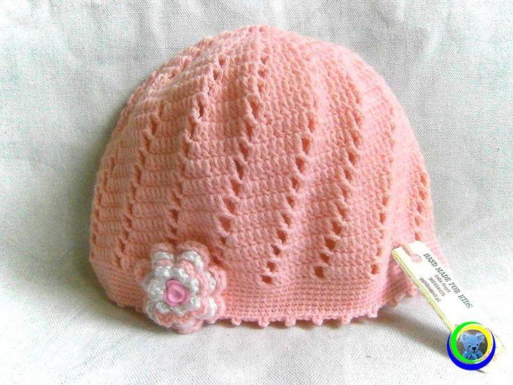 czapka+azurowa+45+cm+w+Hand+Made+Lidia+na+DaWanda.com