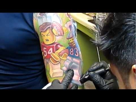 17 best images about lego tattoo on pinterest patriots for Does tom brady have a tattoo