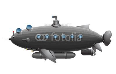 Vektor: u boat
