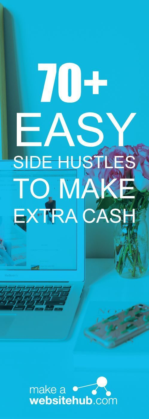 Make Extra Money in 2019 with these 70+ Easy Side Hustles – Side Hustle Ideas